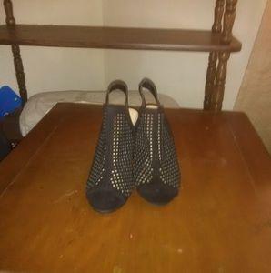 High heel open toe sandals